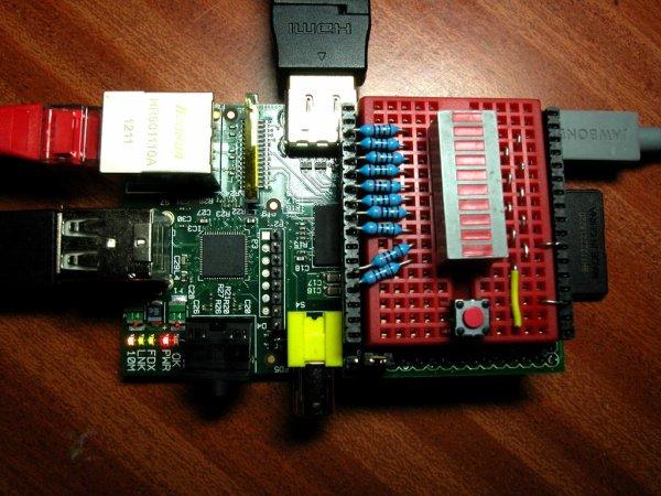 DTRONIXS Mini PiIO Protoboard schematic
