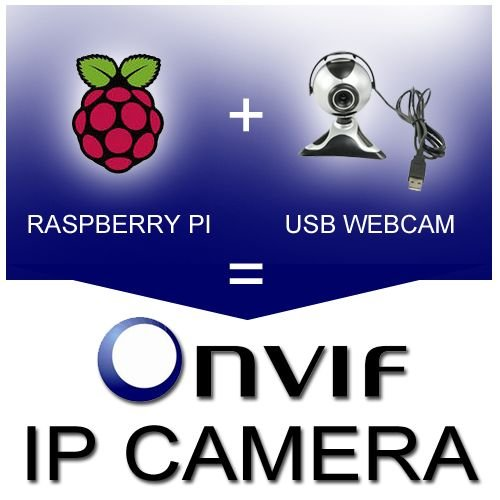 How to turn an USB camera with Raspberry Pi into an Onvif IP Camera