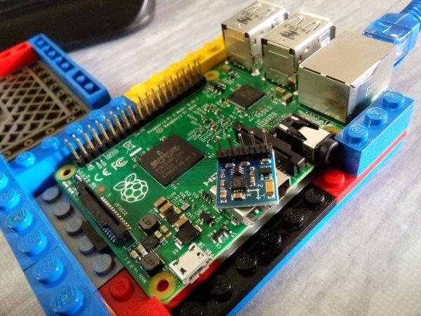 Interfacing Digital Compass (HMC5883L) with Raspberry Pi 2 using Python3