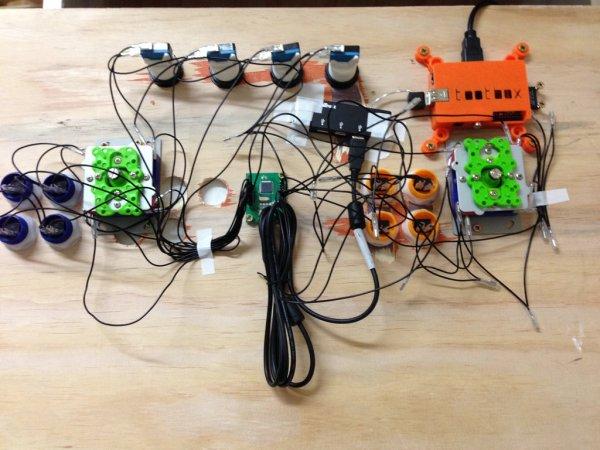 Kids Build - Raspberry Pi Arcade Cabinet schematic