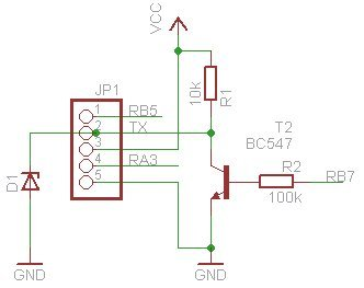 LCD Chip P017(serial) & P018(I2C) schematic