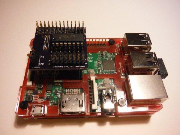 MCP3008 Raspberry Pi Breakout hat