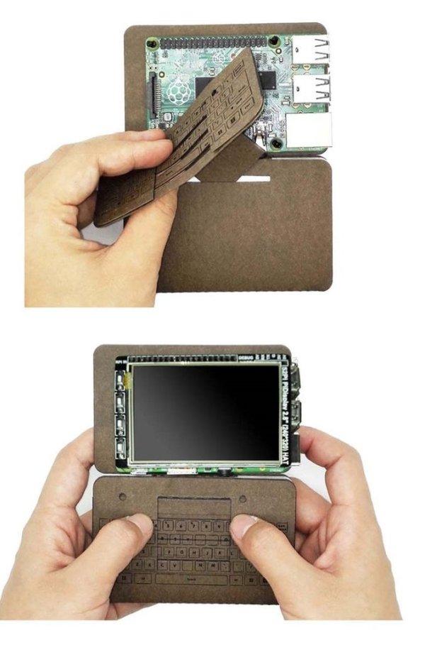 Raspberry Pi 2 Kraft Case schematic