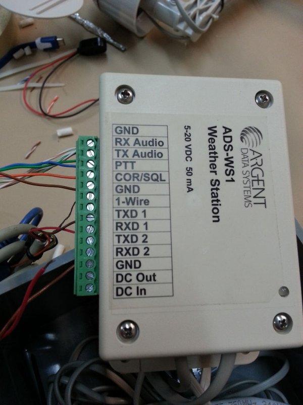Raspberry Pi 2 Weather Station schematic
