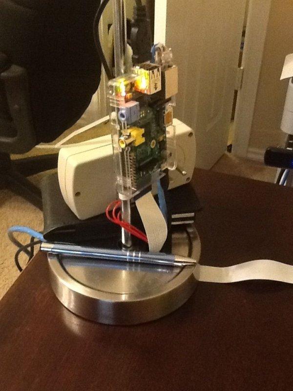 Raspberry Pi Lamp LAMP Server schematic