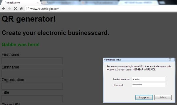Raspberry Pi as webserver. schematic