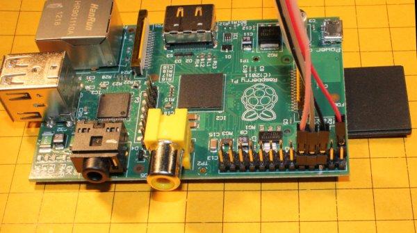 Raspberry Pi - single board Linux computer schematic