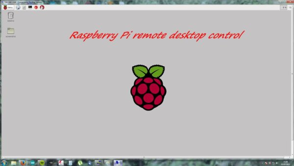 Remote desktop from Windows to Raspberry Pi