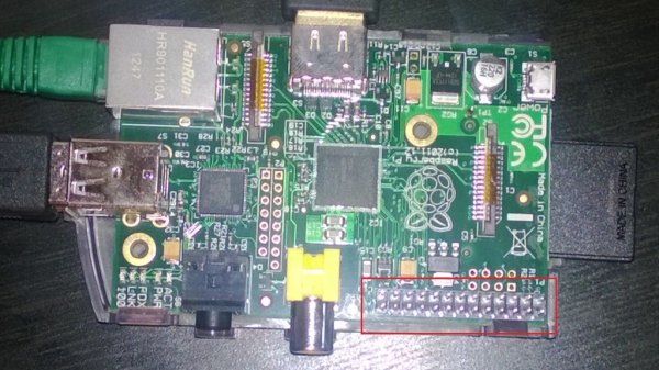 Setting up a PiFace with your Raspberry Pi schematic