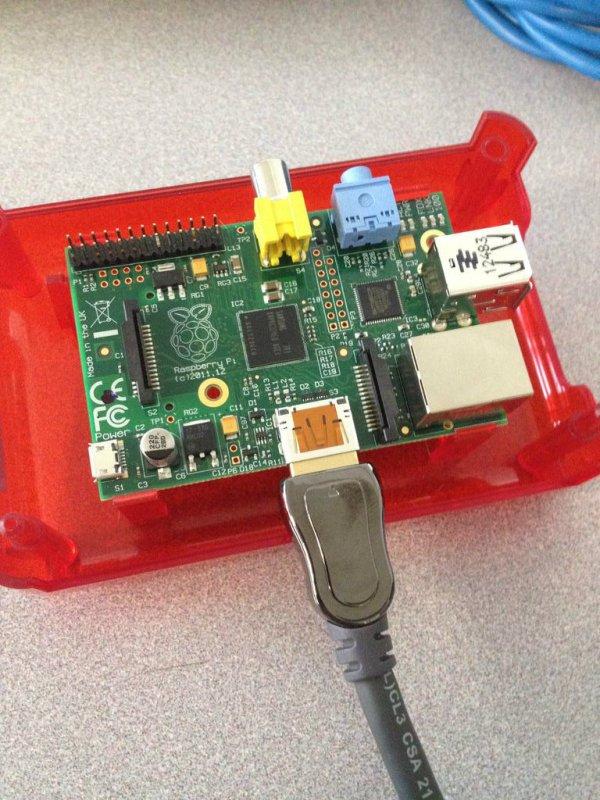Setup Raspberry Pi schematic