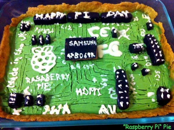 The Raspberry Pi Pie