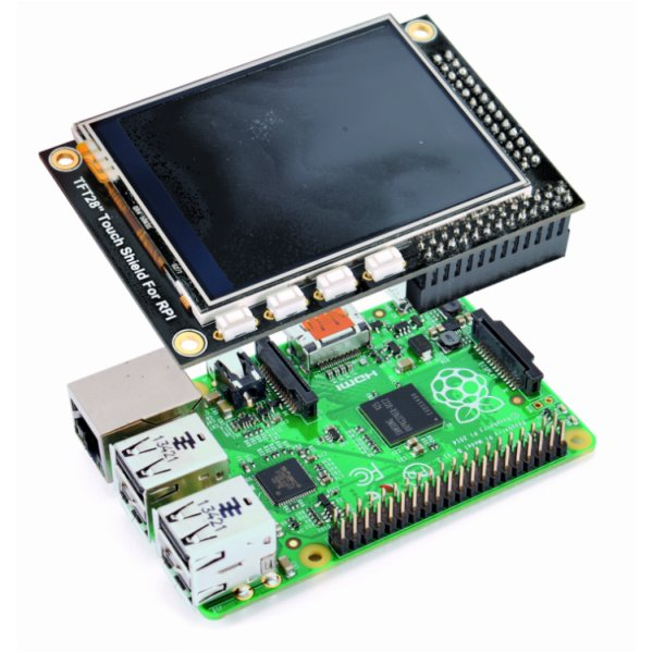 Touch Display for Raspberry Pi Schematic