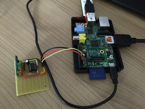 Use a bare Arduino as an RF signal processor for Raspberry PI