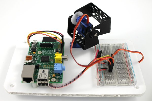 Using the Dagu Pan Tilt Kit with the Raspberry Pi