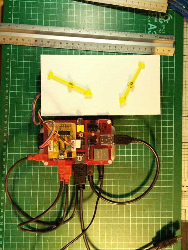 A Raspberry Pi Controlled Two Faced Clock