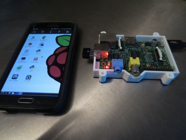 Control your Pi's Desktop from any Mobile Device schematic