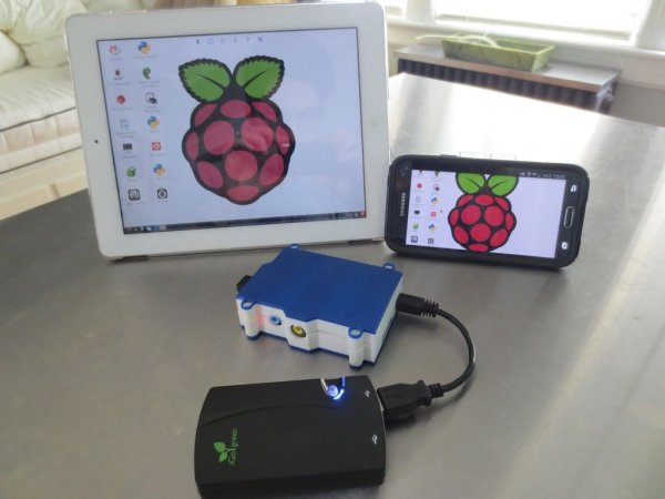 Control your Pi's Desktop from any Mobile Device