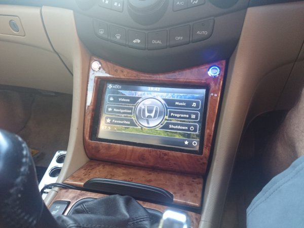 Honda Accord Raspberry Pi based onboard computer