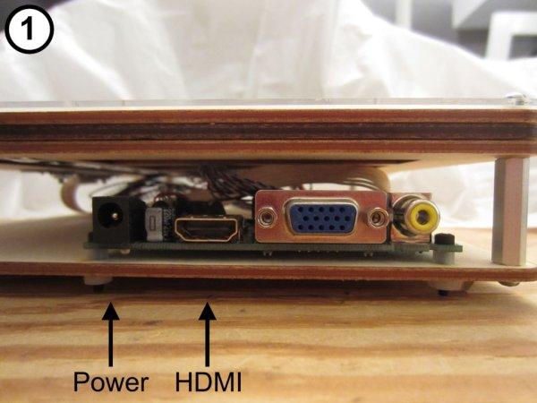 Laser Cut Raspberry Pi LCD Case schematic