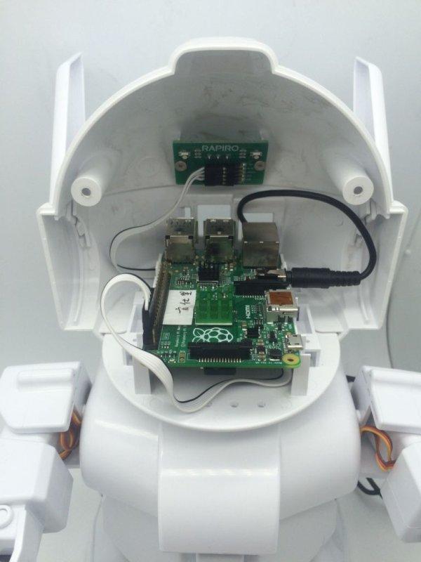 MrRobot - Ubuntu Mobile app enabled Robotics( Raspberry Pi and arduino involved) schematic