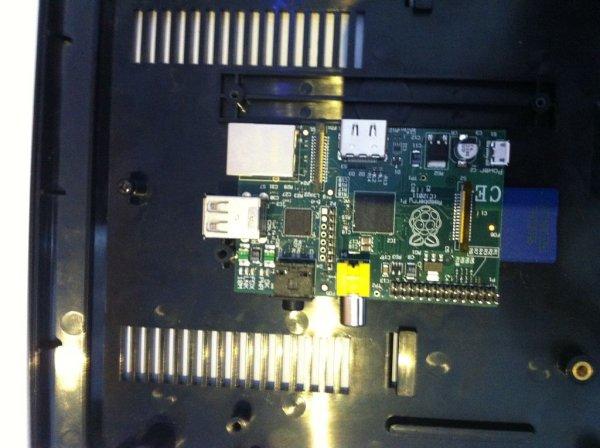 Raspberry Pi Sega Mega Drive Genesis Case schematic
