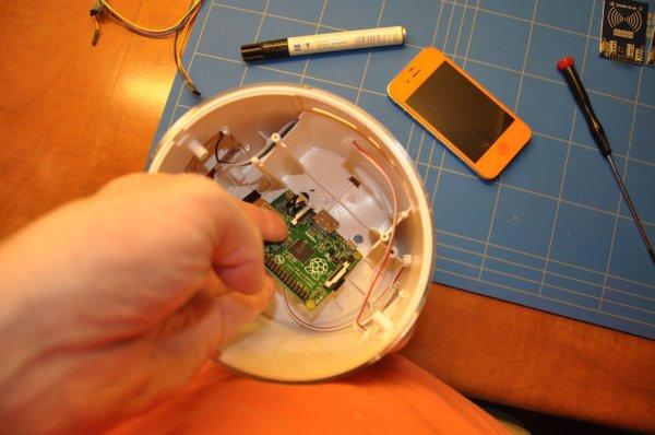 Raspberry Pi based RFID Music Robot schematic