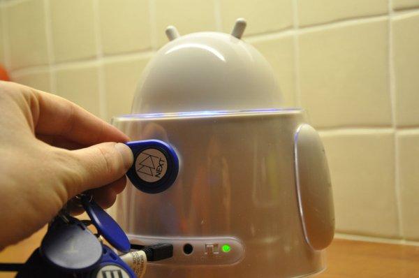 Raspberry Pi based RFID Music Robot