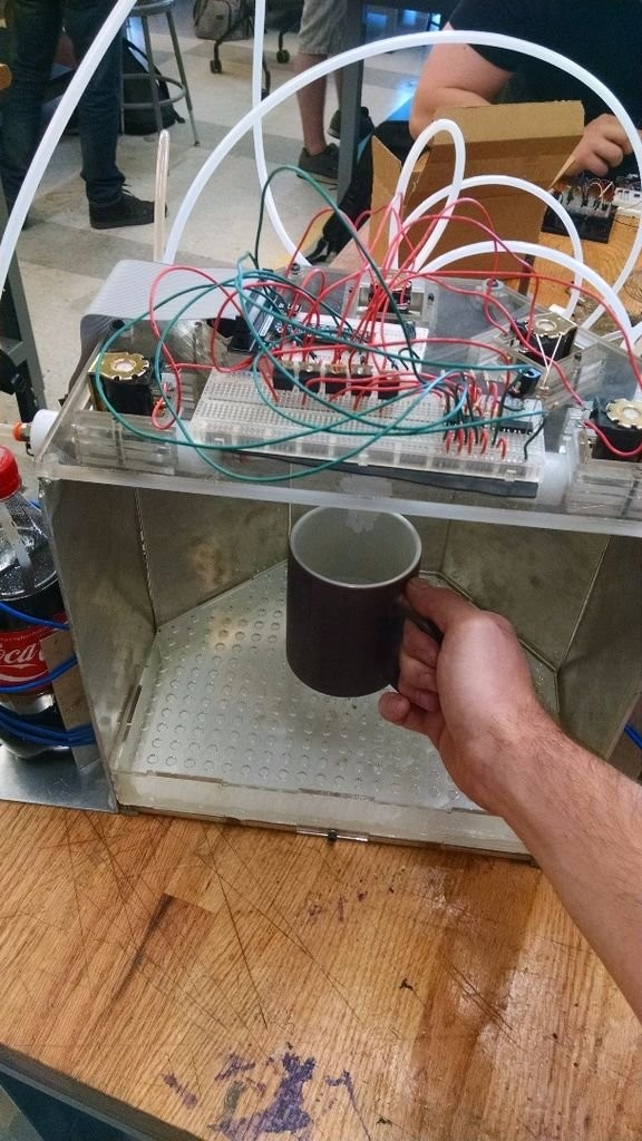 Raspberry pi Controller Automatic Drink Dispensing Robotic Bartender