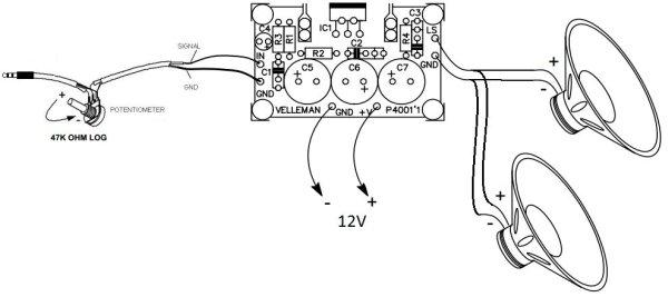 Raspberry pi Pandora's Jukebox schematic