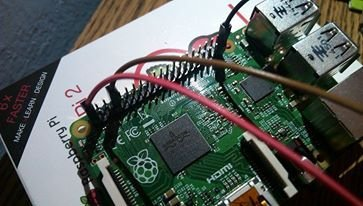 Read temperature with DS18B20 Raspberry Pi 2 schematic