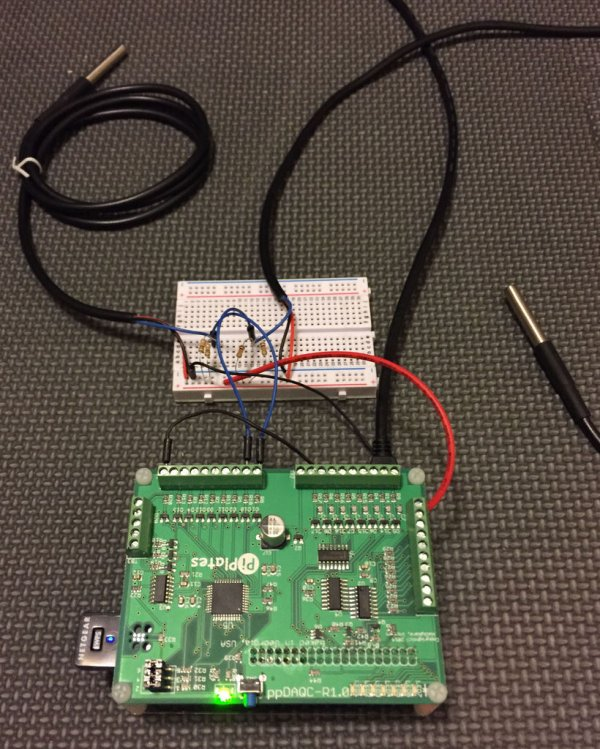 Streaming Sensor Data from a ppDAQC Pi Plate Using InitialState