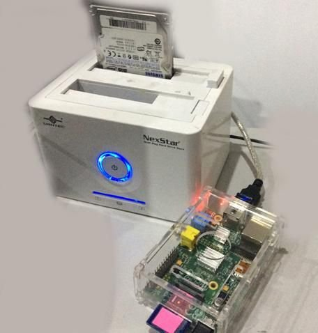 Using a USB external hard drive with your Raspberry Pi