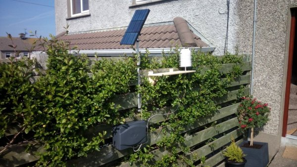 Weather station based on Raspberry Pi