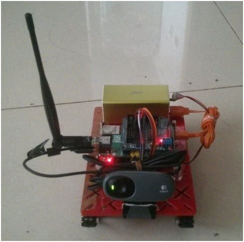 Wireless monitor tank robot based on raspberry pi