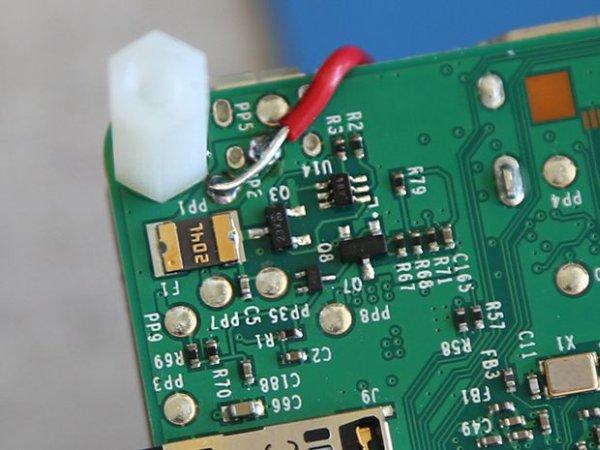 Connected Studio Warning Light schematich