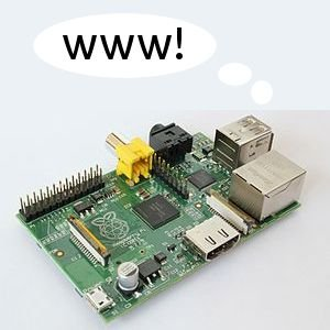 Host your own blog from a $25 Raspberry Pi computer schematich