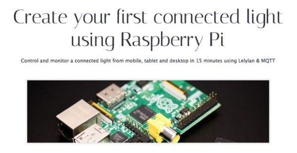 Raspberry Pi Create your first Connected Light