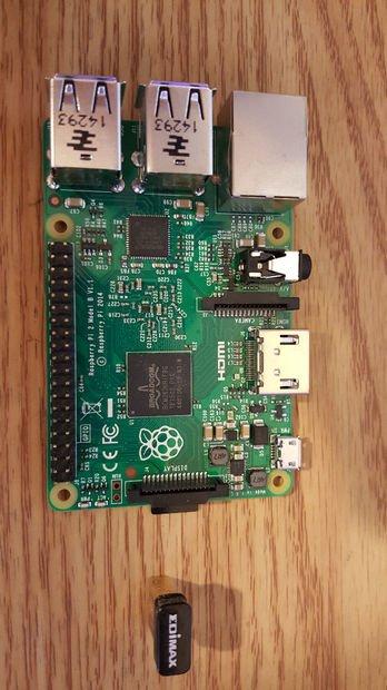 Raspberry pi wifi router prank schematich