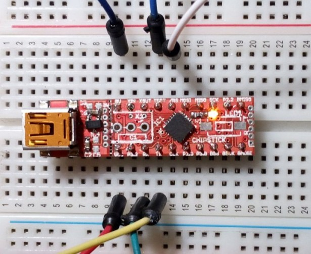 ChipStick – A small scale experimental Forth machine