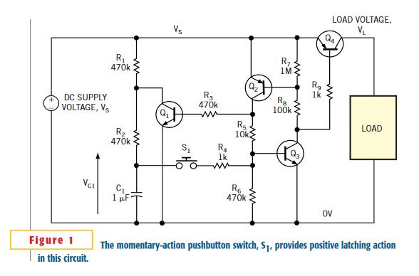Latching power switch
