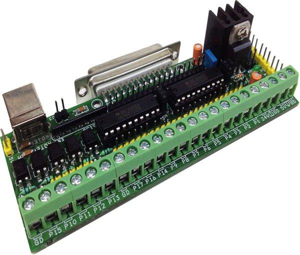 Parallel Port Breakout board
