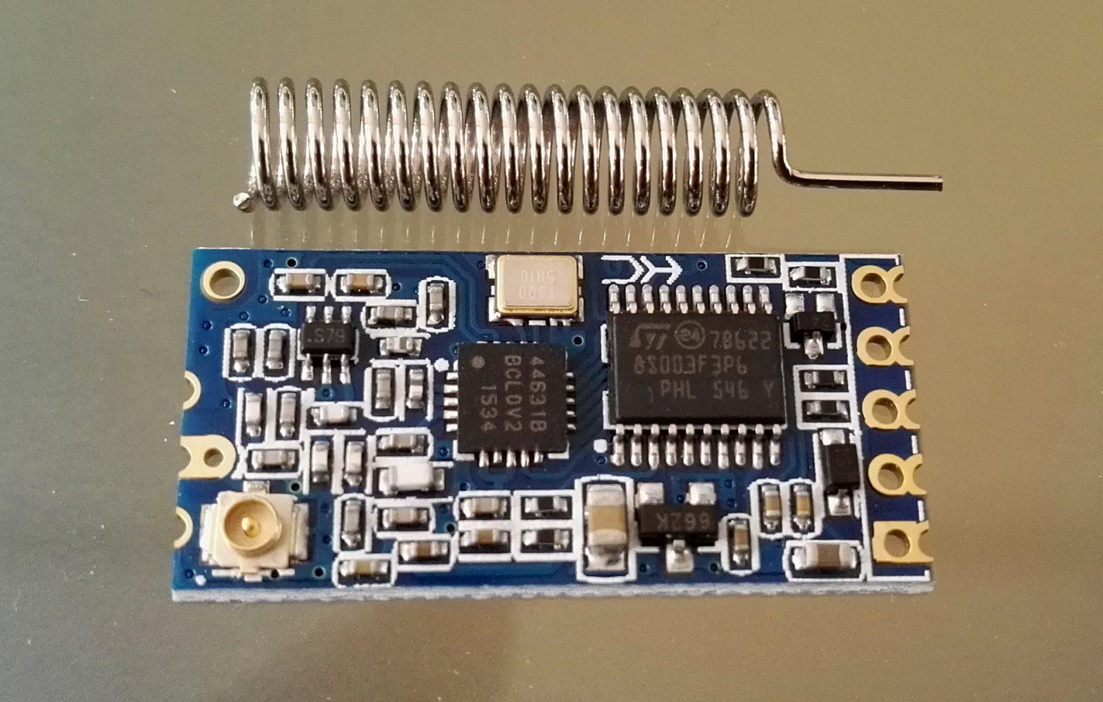 Hc 12 433mhz Wireless Serial Communication Module