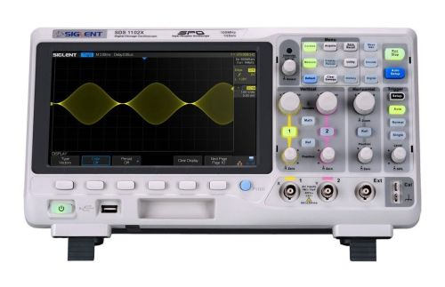 Siglent oscilloscope SDS1102X review