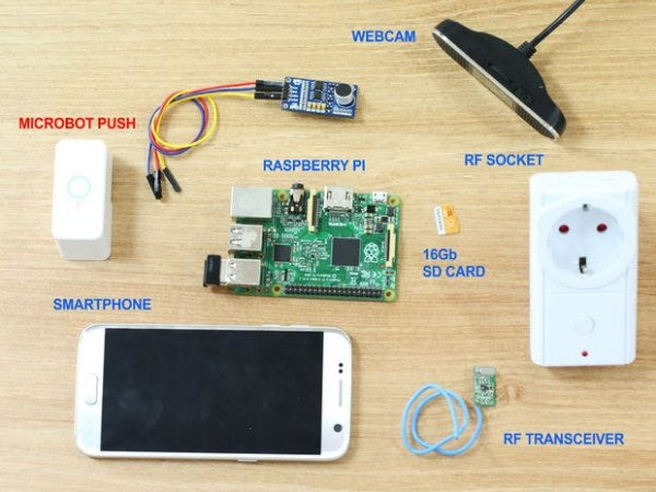 diy self monitored smart home for vacation time