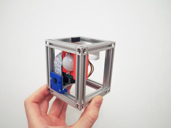 Raspberry Pi Security System with Motion Detection Camera