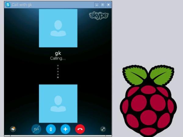 Run Skype on Raspberry Pi