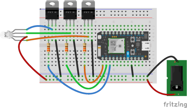 schematic low cost home automation with voice control