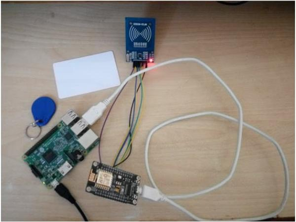 attendance system using mysql with raspberry and rfid rc522