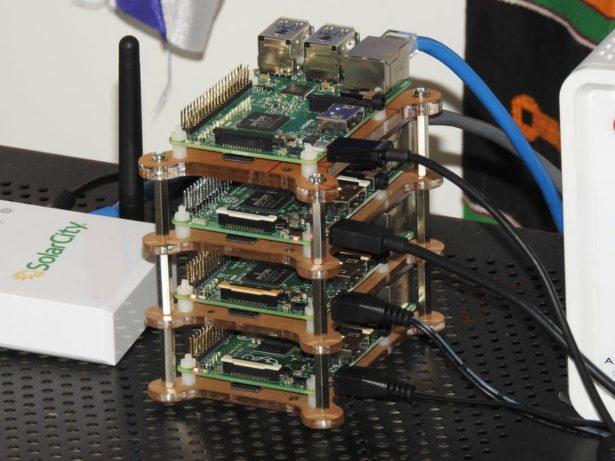 raspberry pi supercomputer with mpi