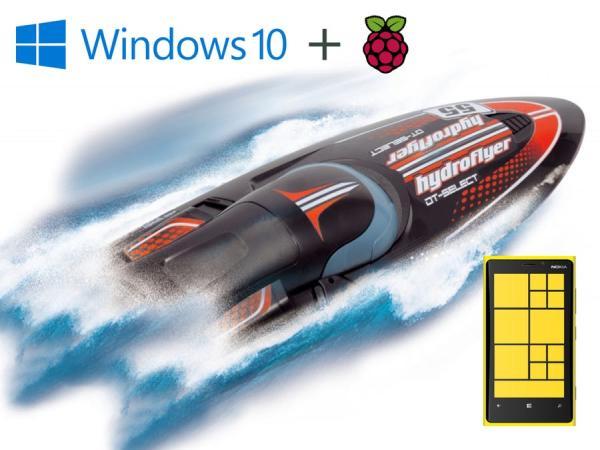 windows 10 iot core hydroflyer